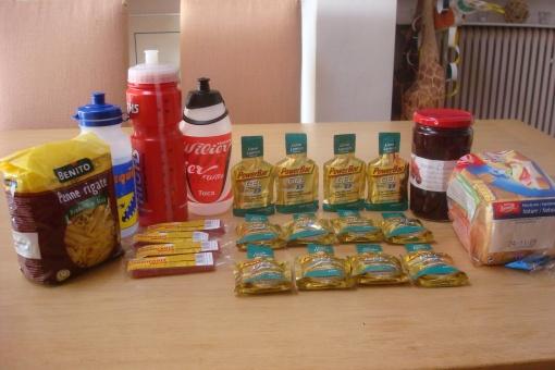 Marathon nutrition plan